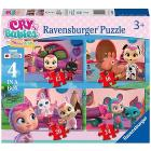 Cry Babies Puzzle 4 in a Box (03052)