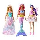 Barbie Set 3 Bambole Dreamtopia (GFF55)