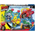 Puzzle 4 in 1 Ricky Zoom