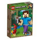 Maxi-figure Minecraft di Steve con pappagallo - Lego Minecraft (21148)