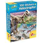 Piccolo Genio Dino 100 Stickers Velociraptor (60580)