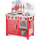 Cucina bon appetit - deluxe rossa in legno (11060)