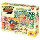 Puzzle 2X108 Yo kai Watch A New Adventure Begins (60672)