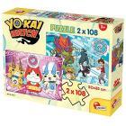 Puzzle 2X108 Yo kai Watch Yo-Kai Are Reali (60689)