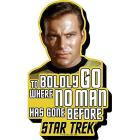 Star Trek Kirk Quote Magnet