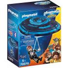 Playmobil: The Movie Rex Dasher Con Paracadute (70070)
