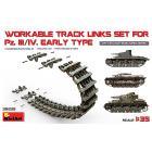 Cingoli Pz.Kpfw III/IV Workable Track Links 1/35 (MA35235)