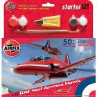Aereo Red Arrows Hawk Starter Set (A55202A)