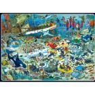 Comic 2000 Pezzi- Divertimento Nel Fondo Del Mare (617080)