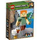 Maxi-figure Minecraft di Alex con gallina - Lego Minecraft (21149)