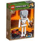 Maxi-figure Minecraft dello Scheletro con cubo di magma - Lego Minecraft (21150)
