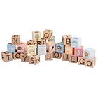 Blocchi in legno alfabeto (80090)