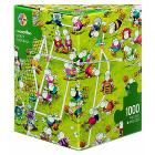 Puzzle 1000 Pezzi Triangolare - Crazy Football