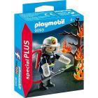 Pompiere con Albero in Fiamme (9093)