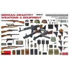 Equipaggiamento e armi fanteria tedesca 1/35 (MA35247)