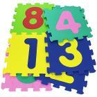 Tappeto Puzzle Mattonelle con 9 numeri