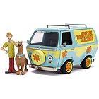 Scooby-Doo Mystery Machine 1:24 Die-Cast Con Personaggi di Scooby e Shaggy