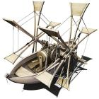 Leonardo da Vinci - Barca a Pale (3103)