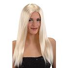 Parrucca lunga liscia bionda (02103)