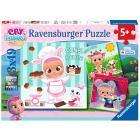 Puzzle 3x49 pezzi Cry Babies (05104)
