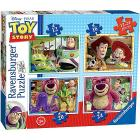 Puzzle 4 in 1 Toy Story (07108)