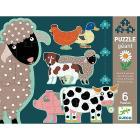 Honore e amici. Animali fattoria Puzzle Progressivi (DJ07112)