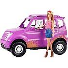 Barbie con Veicolo Ght18