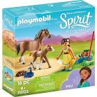 Pru con cavallo e puledro Spirit II (70122)