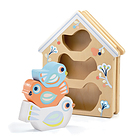 Baby Birdi Gioco legno incastro (DJ06123)