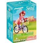 Maricela con bicicletta Spirit II (70124)