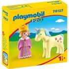 Playmobil Principessa con unicorno 1.2.3