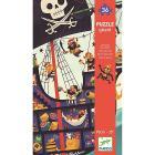 Nave Pirata - Puzzle gigante (DJ07129)