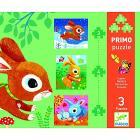 Rabbits - 3, 4, 5 pcs (DJ07140)