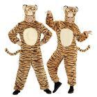 Costume Adulto tigre peluche L