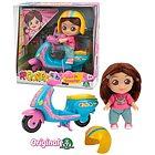 Me Contro Te Mini Doll Sofi in Scooter (MEC29000)