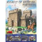 Diorama Assalto alla fortezza medievale 1/72 (MA72033)