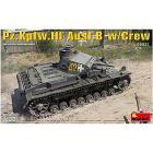 Carro armato Pz.Kpfw.3 Ausf.B W/Crew. Scala 1/35 (MA35221)