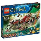 La nave Coccodrillo di Cragger - Lego Legends of Chima (70006)