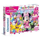 Puzzle 104 Glitter Minnie Happy Helpers (20146)