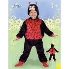 Costume Coccinella 2-4 anni