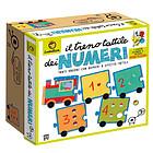 Il treno tattile dei numeri. Giochi Montessori (7150)