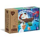 Disney Little Mermaid-104 pezzi-materiali 100% riciclati Play For Future (27152)