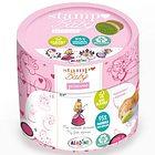 Stampo Baby Eco Stampini Principesse con Tampone Rosa 4 Timbri (03135)