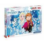 Frozen Glitter Puzzle 104 pezzi (20153)