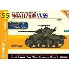 Carro Armato M4A1 76 W VVSS 1/35 (DR9155)