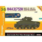 Carro Armato M4A3 75 W WELDED HULL 1/35 (DR9156)
