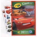Maxi Pagine da Colorare e Adesivi Cars 2