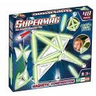 Supermag Tags Glow 48 pezzi Gioco di Costruzioni Magnetico (94935)