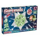 Supermag Tags Glow 67 pezzi Gioco di Costruzioni Magnetico (94936)