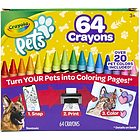 Pets - 64 Pastelli a cera (52-1164)